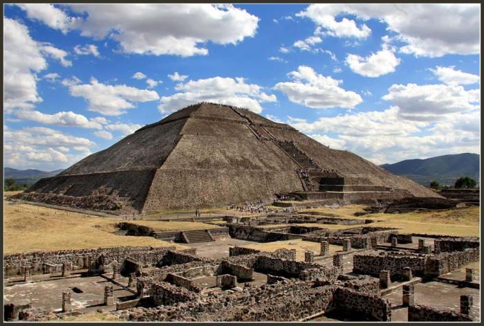 Пирамида-солнца-Теотиукан